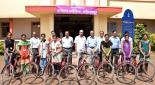 Distribution of cycles to students
