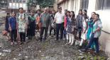 Participation of Faculty and Students in Clean campus Campaign