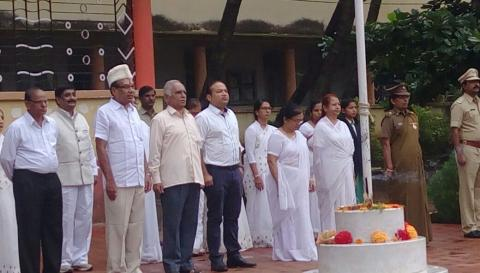 Independence day Celebration in Kamala college kolhapur