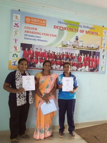 Student selected for Inter zone boxing  competition
