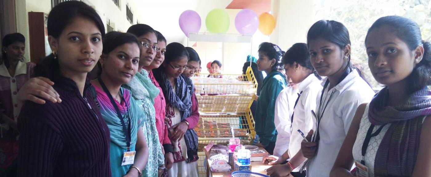 Retail Shoppe held by Retail B.Voc.Deparment students
